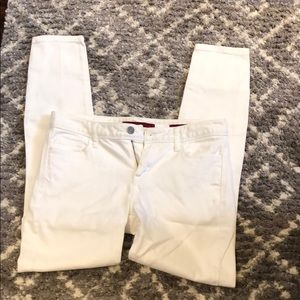 White Skinny Limited edition Banana Republic Jeans
